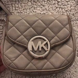 Grey Michael Kors crossbody bag